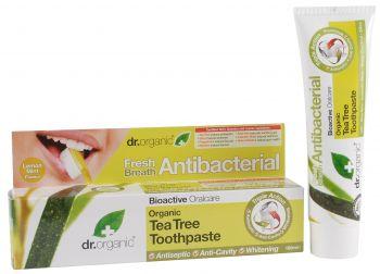 Dr. Organic Tea Tree Toothpaste Antibacterial 100ml