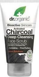 Dr.Organic Activated Charcoal Face Scrub 125ml