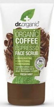 Dr.Organic Coffee Face Scrub 125ml
