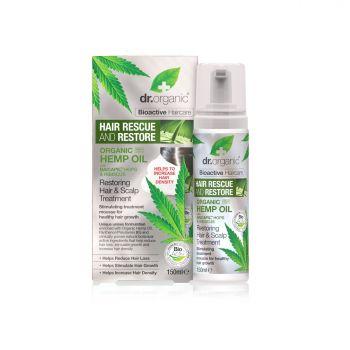 Dr.Organic Hemp Oil Restoring Hair & Scalp Treatment 150ml