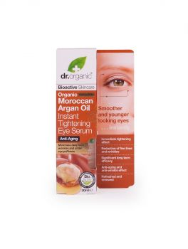 Dr.Organic Organic Moroccan Argan Oil Instant Tightening Eye Serum 30ml