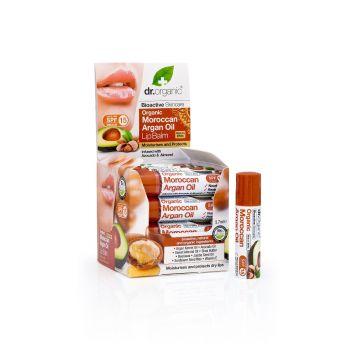 Dr.Organic Organic Moroccan Argan Oil Lip Balm 5,7ml