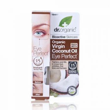 Dr.Organic Organic Virgin Coconut Oil Eye Perfect Wrinkle Filler 15ml