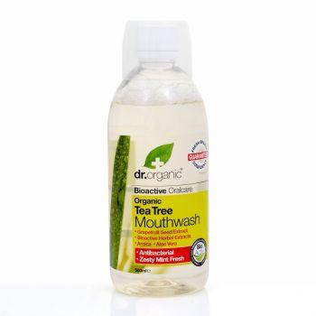 Dr.Organic Tea Tree Mouthwash 500ml