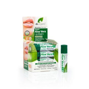 Dr Organic Aloe Vera Lip Balm 5,7ml