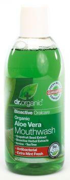 Dr Organic Aloe Vera Mouthwash 500ml