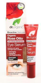 Dr Organic Rose Otto Eye Serum 15ml