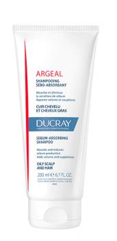 Ducray Argeal Shampoo Σαμπουάν Κατά Της Λιπαρότητας Καθημερινής Χρήσης 200ml