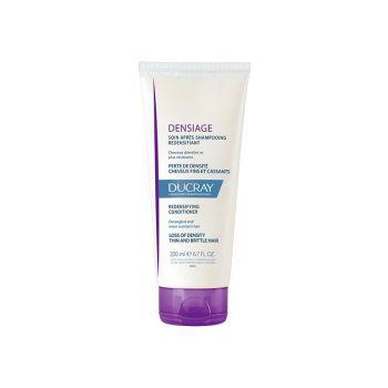 Ducray Densiage Soin Apres-Shampooing Redensifiant - Μαλακτική Κρέμα Μαλλιών, 200ml