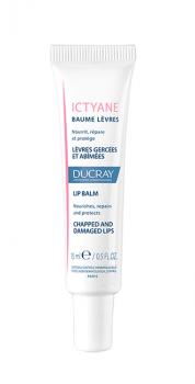Ducray Ictyane Baume Levres Θρέψη & Επανόρθωση Για Σκασμένα Χείλια 15ml
