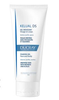 Ducray Kelual Ds Gel Moussant Τζελ Καθαρισμού Προσώπου & Σώματος Για Δέρμα με Σμηγματορροϊκή Δερματίτιδα 200ml