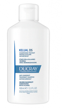 Ducray Kelual DS Shampoo Αντιπιτυριτιδικό Σαμπουάν Κατά Των Λεπιών & Το Αίσθημα Κνησμού 100ml
