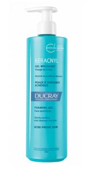 Ducray Keracnyl Gel Moussant Τζελ Καθαρισμού Για Μικτό-Λιπαρό Δέρμα Με Τάση Ακμής 200ml