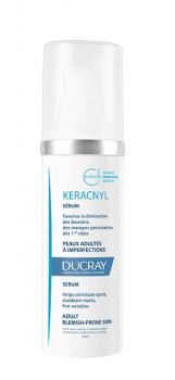 Ducray Keracnyl Serum Ορός Με Τριπλή Δράση Για Το Δέρμα Με Τάση Για Ακμή 30ml