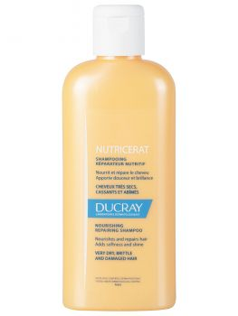 Ducray Nutricerat Shampoo Ultra-Nutritif Σαμπουάν Θρέψης Για Ξηρά Μαλλιά  200ml
