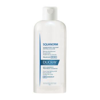 Ducray Squanorm Shampoo Pellicules Seches Σαμπουάν Κατά Της Ξηρής Πιτυρίδας 200ml