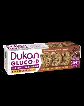 Dukan Μπισκότα βρώμης GLUCO-D με κομμάτια σοκολάτας