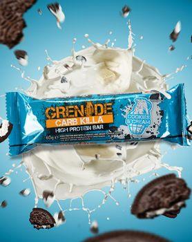 Dukan Grenade Carb Killa Μπάρες Υψηλής Πρωτεΐνης Cookies & Cream