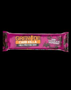 Dukan Grenade Carb Killa Μπάρες Υψηλής Πρωτεΐνης Dark Chocolate Raspberry