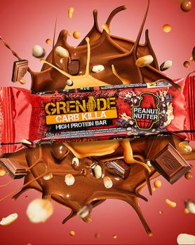 Dukan Grenade Carb Killa Μπάρες Υψηλής Πρωτεΐνης Peanut Nutter