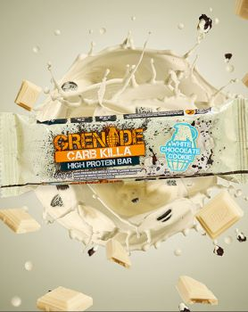Dukan Grenade Carb Killa Μπάρες Υψηλής Πρωτεΐνης White Chocolate Cookie