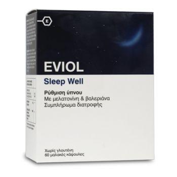 Eviol-Συμπλήρωμα-Διατροφής-για-Ξεκούραστο-Υπνο-Sleep-Well-60-Caps