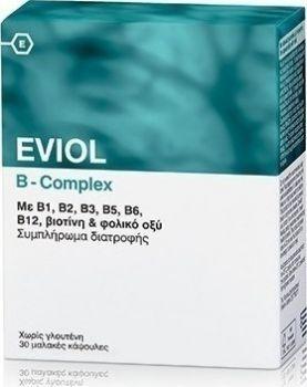 Eviol-Σύμπλεγμα-Βιταμίνης-B-Complex-30-Caps