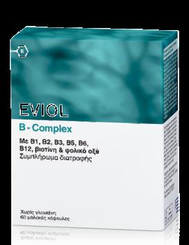 Eviol-Σύμπλεγμα-Βιταμίνης-B-Complex-60-Caps