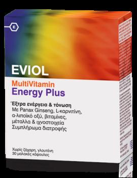 Eviol-Πολυβιταμίνη-Multivitamin-Energy-Plus-30-Caps