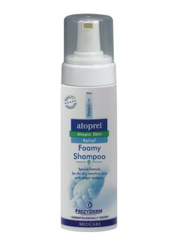 Frezyderm Atoprel Foamy Shampoo Σαμπουάν Για Ξηρό Και Με Ατοπική Προδιάθεση Δέρμα 150ml