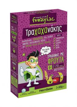 Frezyderm Frezylac Τραχανάκης - Βιολογικός Τραχανάς με Βιολογικά Φρούτα 2Χ165g