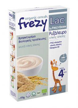 Frezyderm Frezylac Bio Cereal Βρεφική Κρέμα Ρυζάλευρο Ολικής Άλεσης Από Τον 4ο Μήνα 175gr
