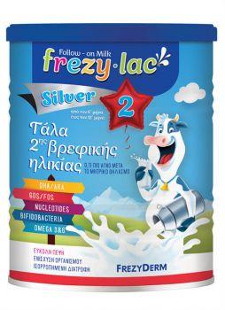 Frezyderm Frezylac Silver 2 Βιολογικό Αγελαδινό Γάλα Από Τον 6° Έως Και Τον 12° Μήνα 400gr