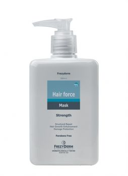 Frezyderm Hair Force Mask Μάσκα Μαλλιών Τριχοτονωτική Για Ενισχυμένη Θρέψη Και Ενδυνάμωση 200ml