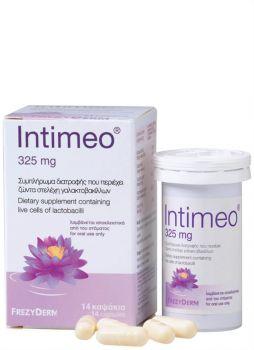 Frezyderm Intemeo Συμπλήρωμα διατροφής με ζώντα στελέχη γαλακτοβακίλλων 14caps
