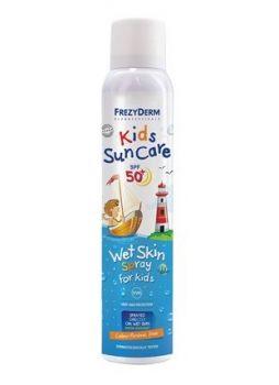 Frezyderm Kids Sun Nip Spf50+ Wet Skin Spray Παιδικό Αντηλιακό Σπρέι 200ml