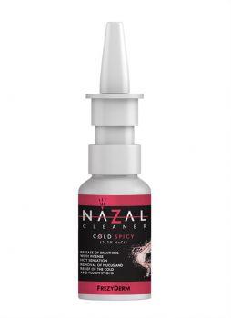 Frezyderm Nazal Cleaner Cold Spicy Υπέρτονο Αλατούχο Διάλυμα 2,2% NaCl 30ml