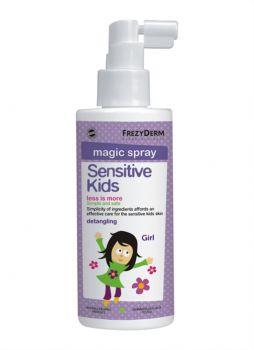 Frezyderm Sensitive Kid's Magic Spray Girls Παιδική Αρωματική Λοσιόν για Εύκολο Χτένισμα 150ml