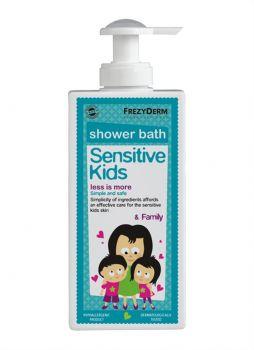Frezyderm Sensitive Kid's Shower Bath  Παιδικό Αφρόλουτρο για Ευαίσθητες Επιδερμίδες 200ml