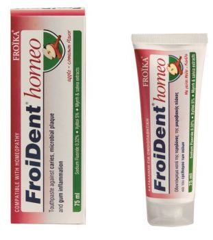 Froika-Ομοιοπαθητική-Οδοντόκρεμα-Με-Γεύση-Μήλο-Κανέλα-Froident-Homeo-75ml