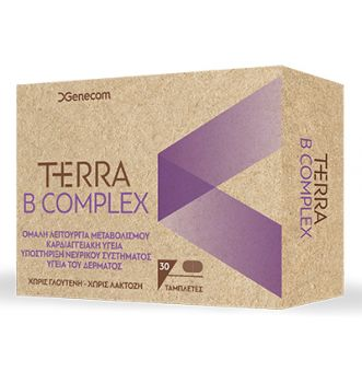 Genecom Terra B Complex 30tbs