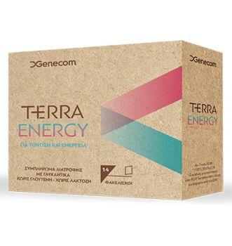 Genecon Terra Energy Συμπλήρωμα Διατροφής Για Ενέργεια και Τόνωση 14sach