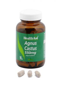 Health Aid Agnus Castus 550mg 60 tabs
