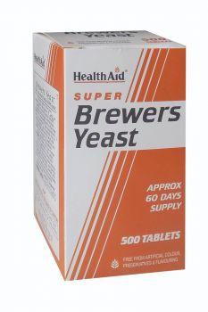 Health Aid Brewers Yeast 300mg 500 tabs