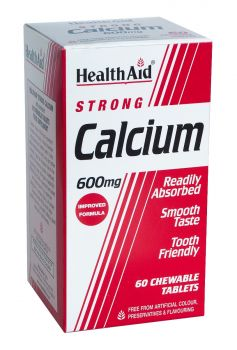 Health Aid Calcium Strong 600mg 60 tabs