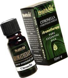 Health Aid Citronella Oil (Cymbopogon Nardus) 10Ml