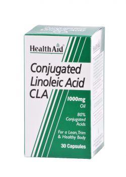 Health Aid CLA Linoleic Acid 1000mg 30caps