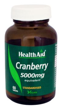Health Aid Cranberry Extract 5000mg 60 tabs