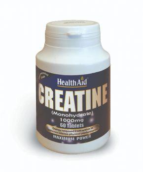 Health Aid Creatine 1000mg 60 tabs