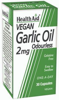 Health Aid Garlic Oil Odourless 2mg 30caps